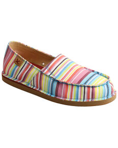 Twisted X Women's Multicolored Casual Loafer Shoes - Moc Toe, Multi, hi-res
