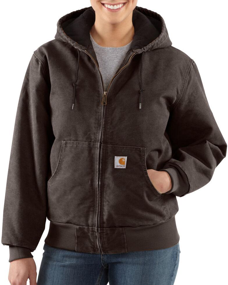 Carhartt Women's Active Duck Quilted Work Jacket, , hi-res