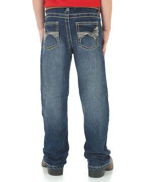 Wrangler Boy's 20X No. 42 Vintage Boot Cut Jeans, Blue, hi-res