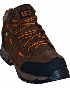 McRae Men's Composite Toe Hiking Boots, Brown, hi-res