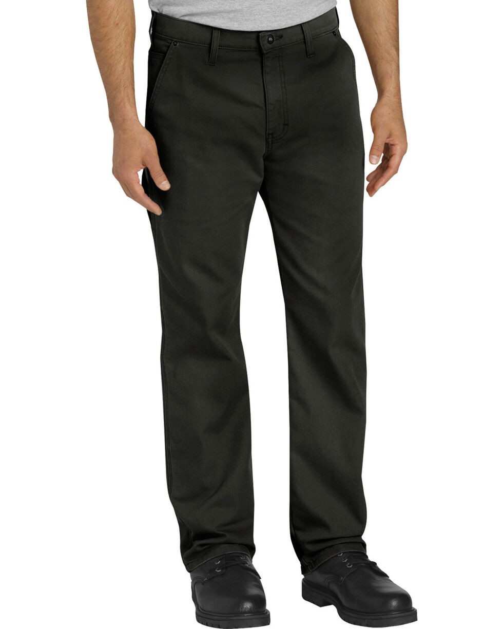 Dickies Men's Black Tough Max Carpenter Pants , Black, hi-res