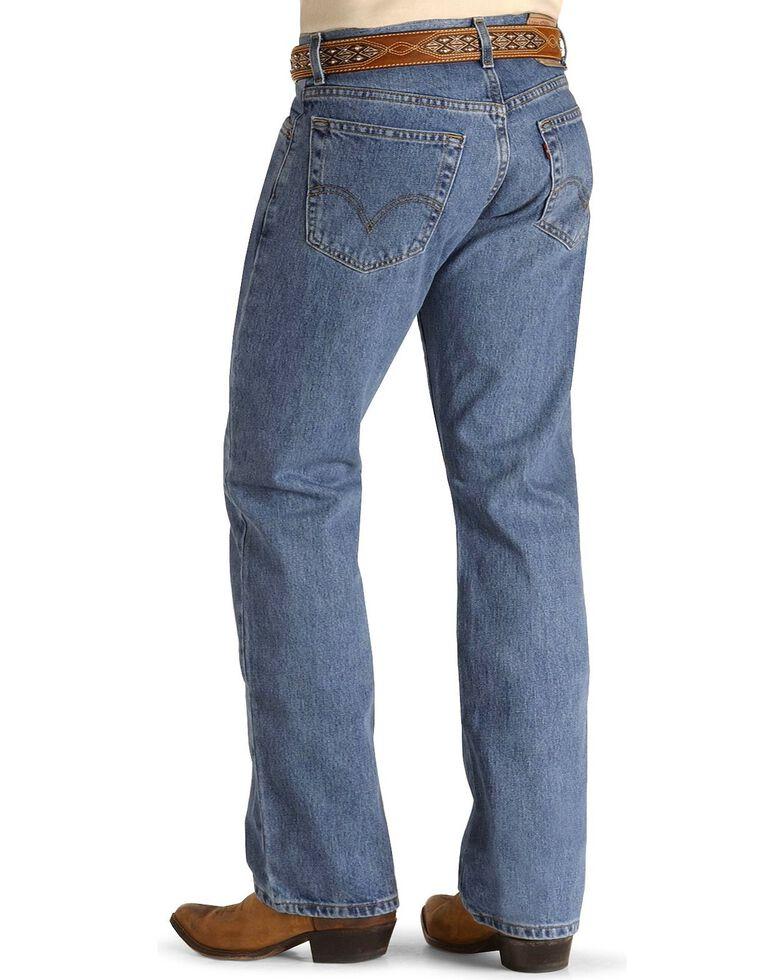 """Levi's Men's 517 Boot Cut Jeans - 44"""" Waist, Stonewash, hi-res"""
