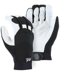 Durango Men's Winter Black Lined Bald Eagle Mechanic Gloves, Black, hi-res