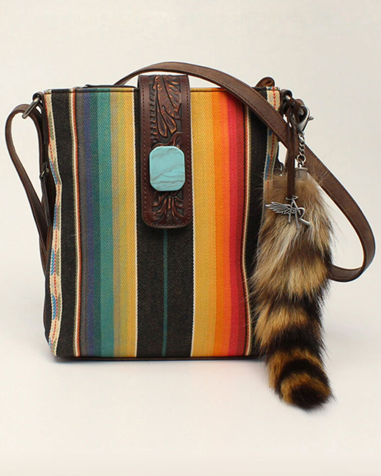 Angel Ranch Women's Serape Crossbody Bag, No Color, hi-res