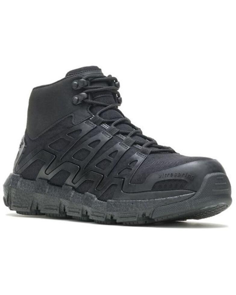 Wolverine Men's Rev Vent Durashocks Work Boots - Carbon Toe, Black, hi-res