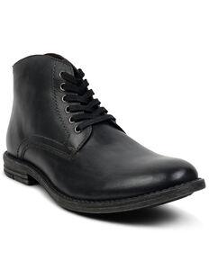 Evolutions Men's Proff Lace-Up Boots - Round Toe, Dark Grey, hi-res