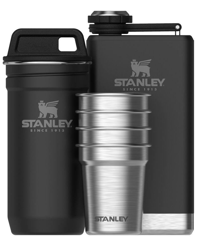 Stanley Black Adventure Shot Glass & Flask Set, Black, hi-res
