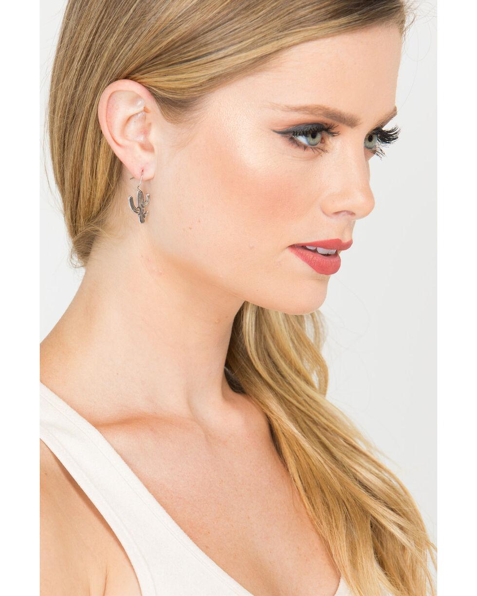 Shyanne Women's Guadalupe Cactus Tassel & Stud Earrings, Gold, hi-res