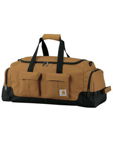 "Carhartt Brown Legacy 25"" Utility Duffel Work Bag , Brown, hi-res"