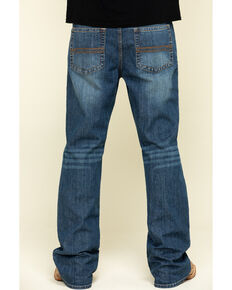 Cody James Men's Wolftooth Stretch Relaxed Bootcut Jeans , Blue, hi-res