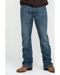 Wrangler Retro Men's Hubbard Stretch Denim Slim Bootcut Jeans , Blue, hi-res