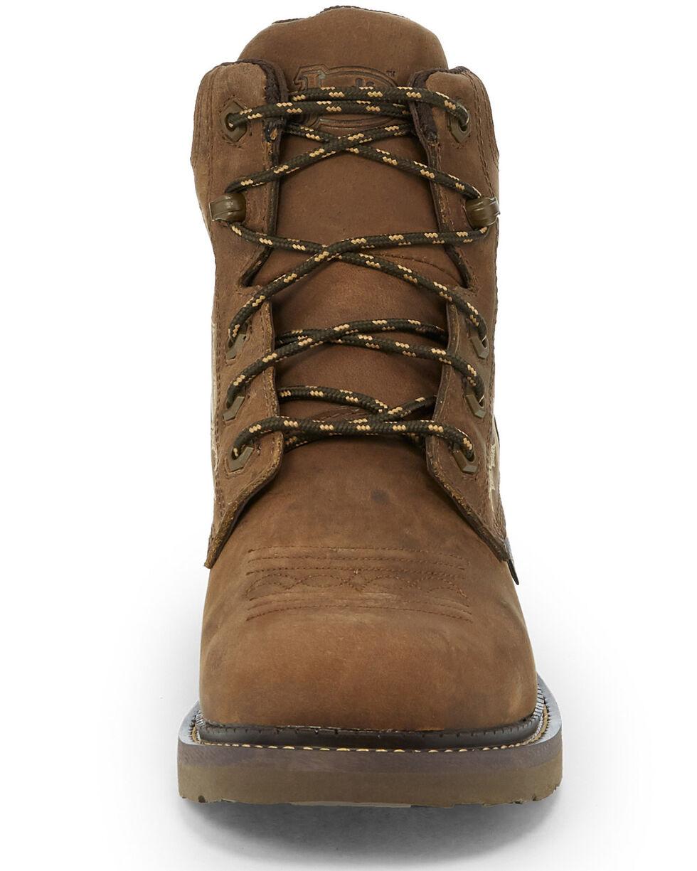 Justin Women's Lanie Waterproof Work Boots - Composite Toe, Brown, hi-res