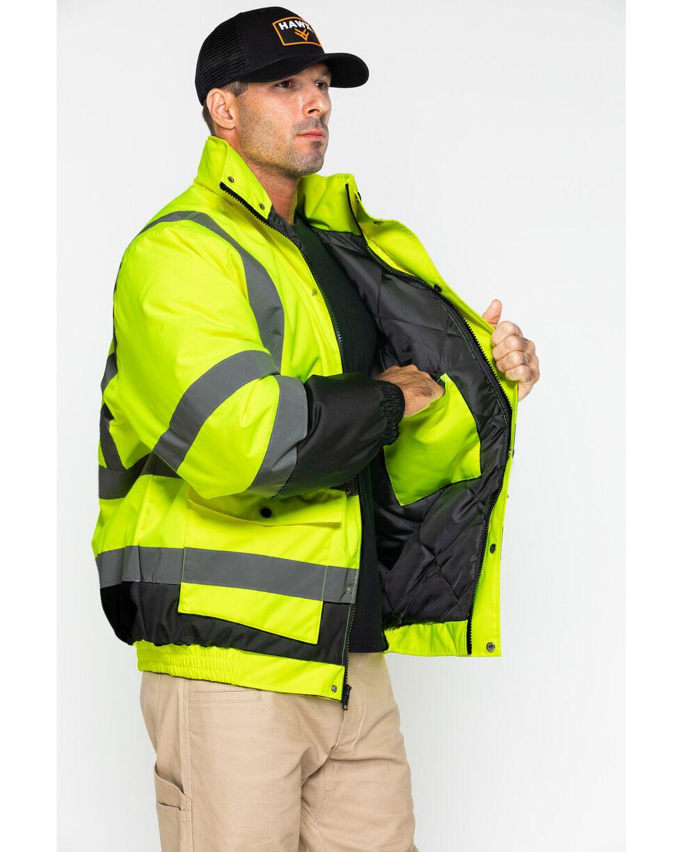 Hawx® Men's 3-In-1 Bomber Work Jacket - Big & Tall, Yellow, hi-res
