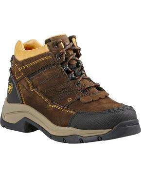 Ariat Women's Terrain Pro H2O Outdoor Boots, Coffee, hi-res