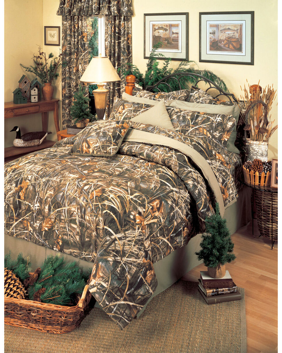 Realtree Max-4 Queen Comforter Set, Camouflage, hi-res