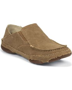 Tony Lama Men's 3R Casual Canvas Shoes, Wheat, hi-res