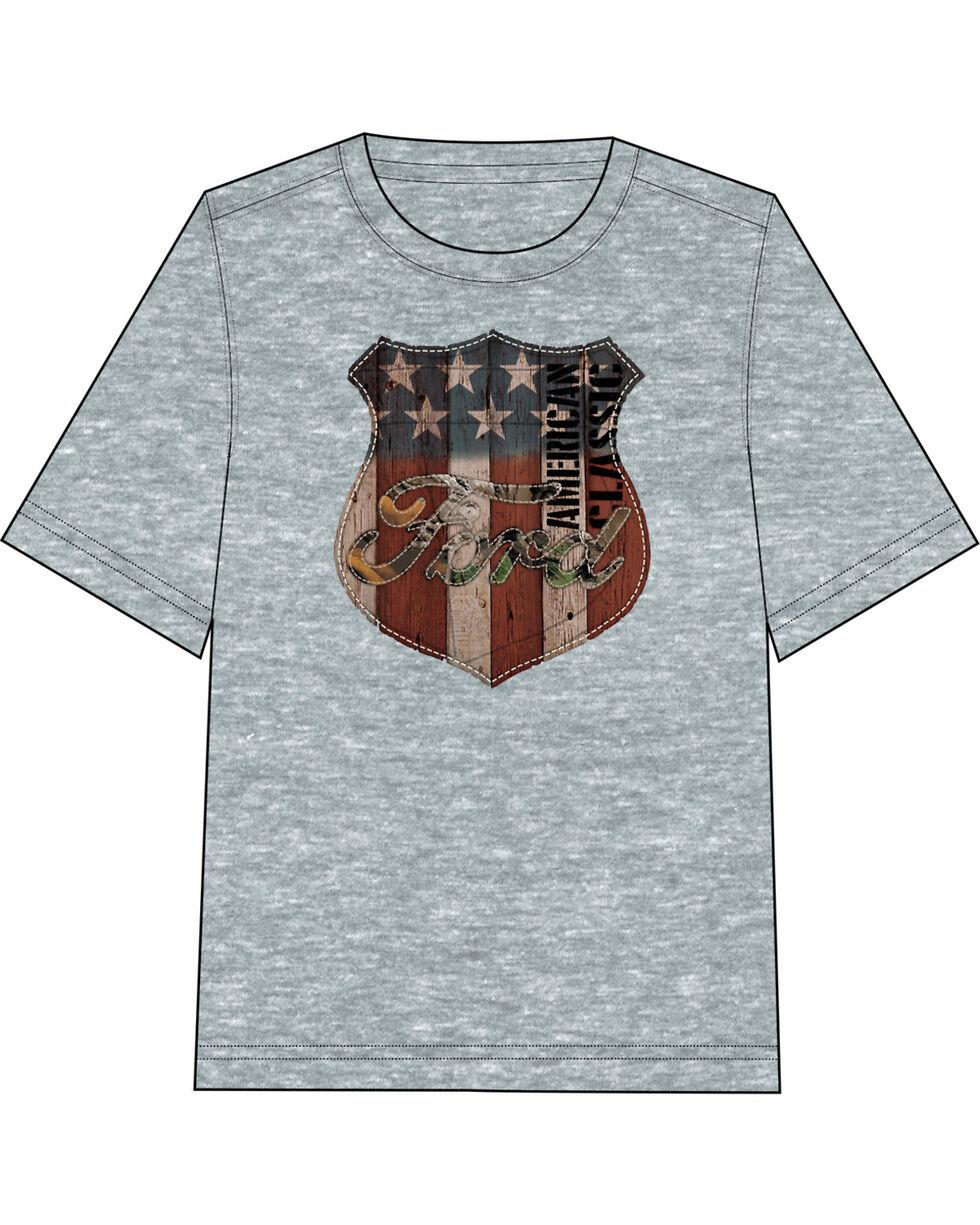 Fencepost Men's Ford Americana Sign T-Shirt, Indigo, hi-res