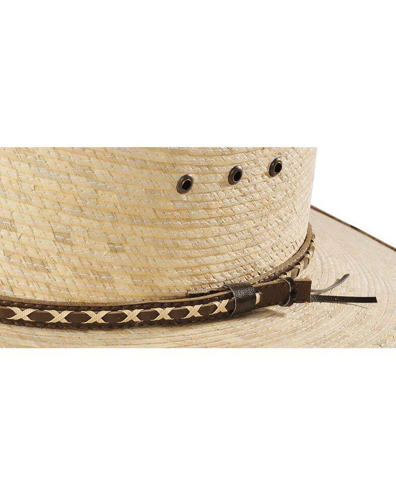 Resistol Youth Brush Hog Palm Hat, Tan, hi-res