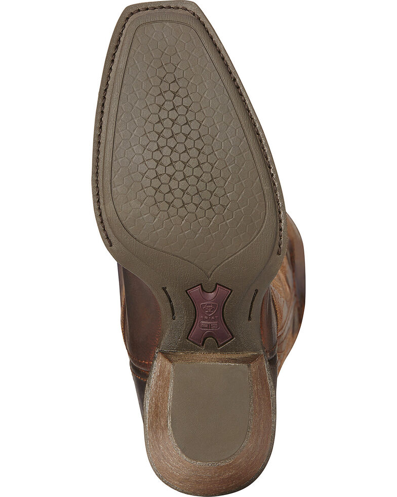 Ariat Women's Lively Western Fashion Boots, Brown, hi-res