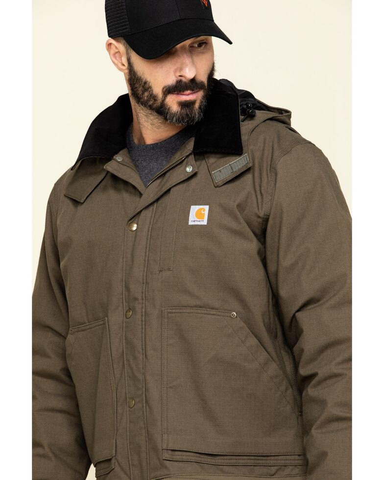 Carhartt Men's Full Swing Steel Work Jacket, Dark Grey, hi-res
