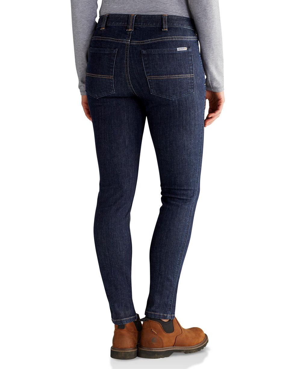 Carhartt Women's Slim Fit Layton Jeans - Skinny, Indigo, hi-res