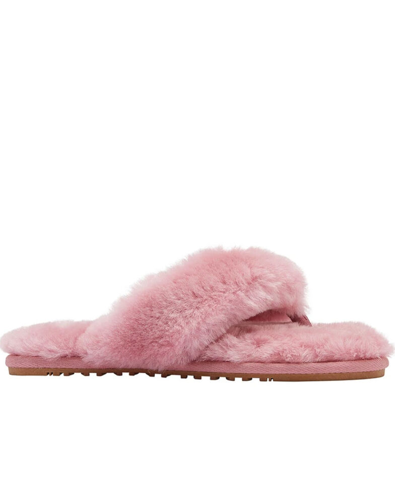 Lamo Footwear Women's Rose Amelia Sheepskin Sandals, Rose, hi-res
