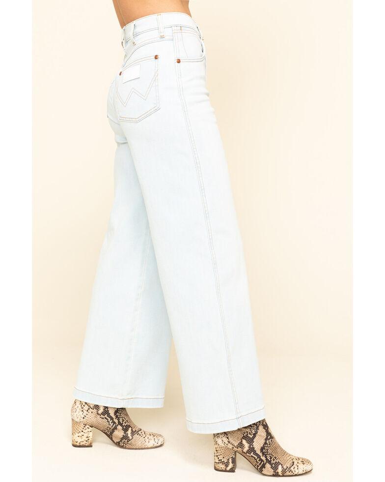 Wrangler Women's Dove Wide Leg Jeans , Blue, hi-res