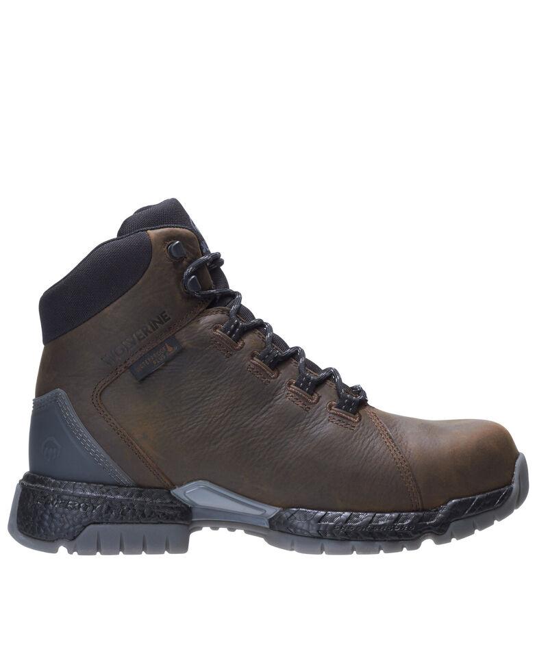 Wolverine Men's I-90 Rush Work Boots - Soft Toe, Dark Brown, hi-res