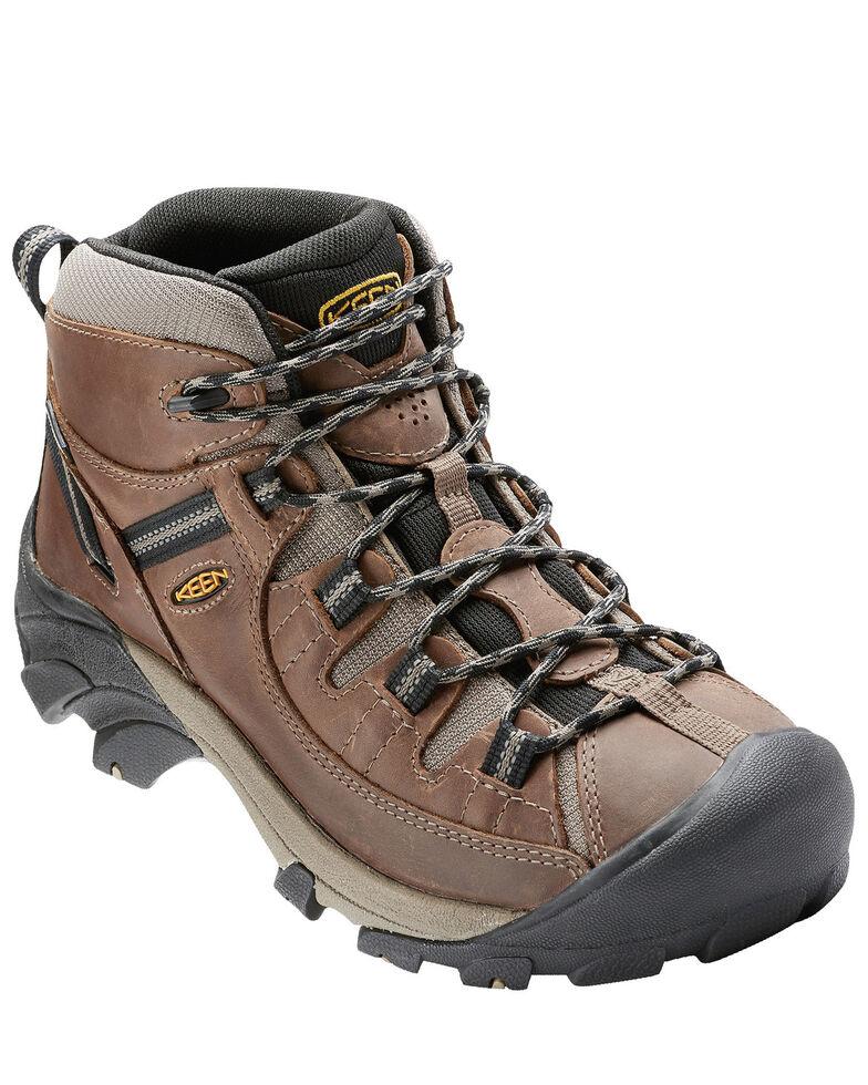 Keen Men's Targhee II Waterproof Hiking Boots - Soft Toe, Tan, hi-res