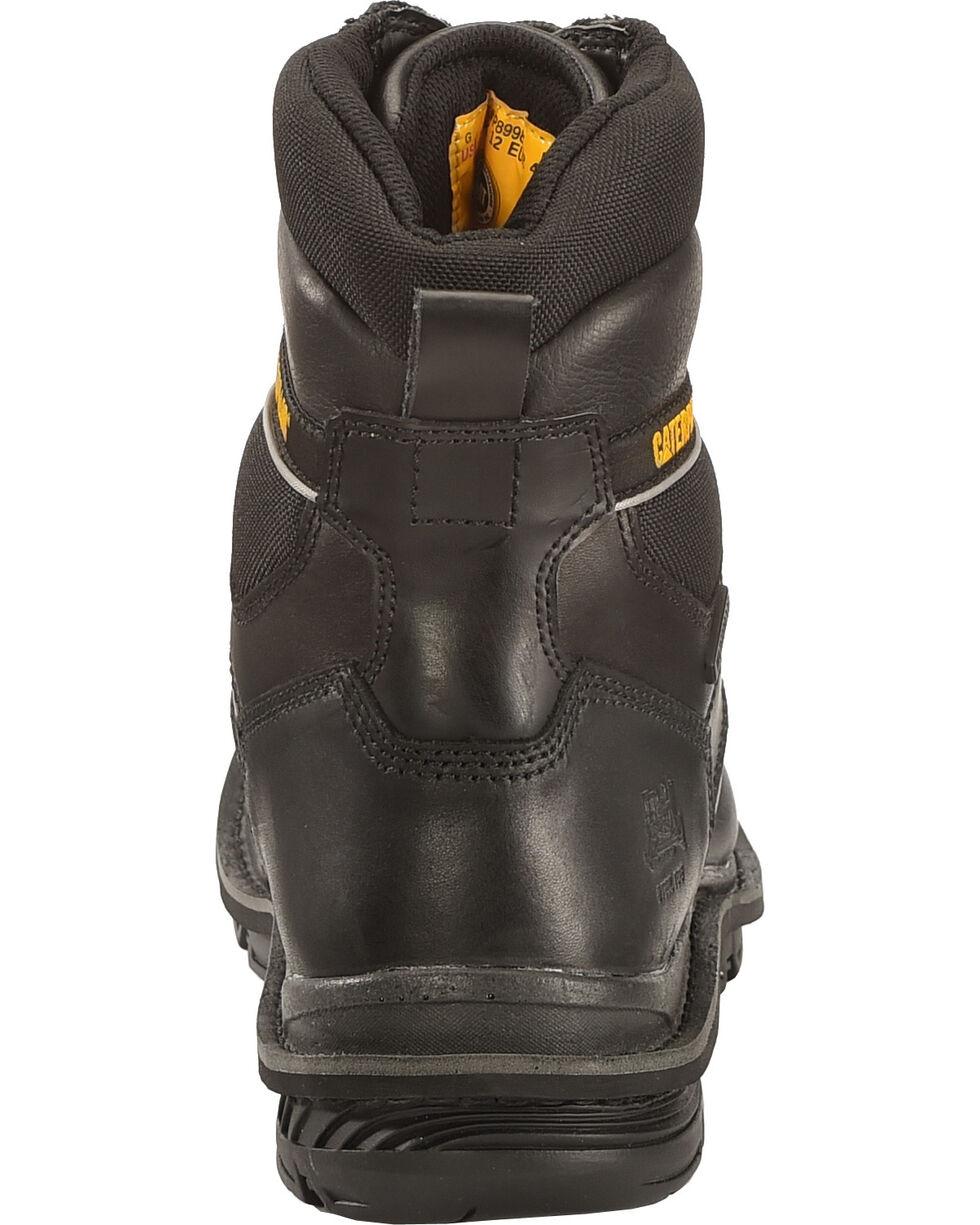 CAT Men's Waterproof Steel Toe Generator Work Boots, Black, hi-res