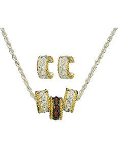 Montana Silversmiths Women's Triple Rings Jewelry Set, Silver, hi-res