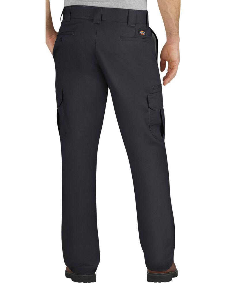 Dickies Men's FLEX Regular Fit Straight Leg Cargo Pants - Big & Tall, Black, hi-res