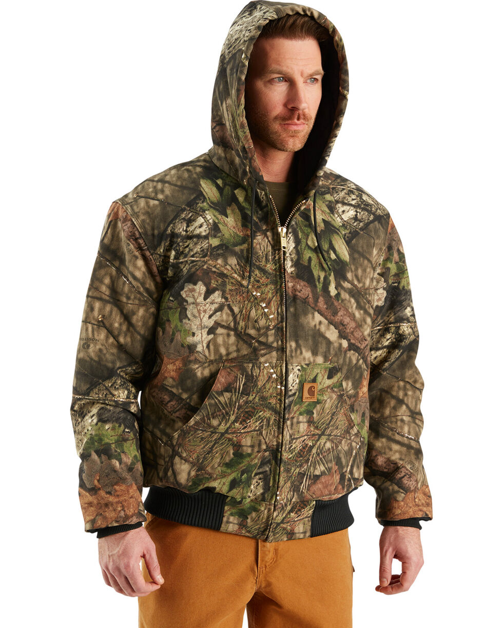 Carhartt Men's Realtree Camo Active Jacket, Multi, hi-res