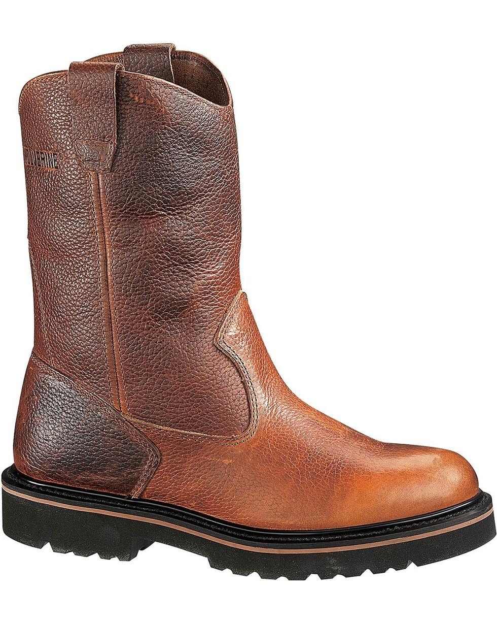 "Wolverine Men's Wellington 10""Work Boots, Tan, hi-res"