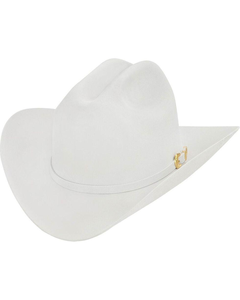 Larry Mahan Reno 6X Fur Felt Cowboy Hat, Platinum, hi-res