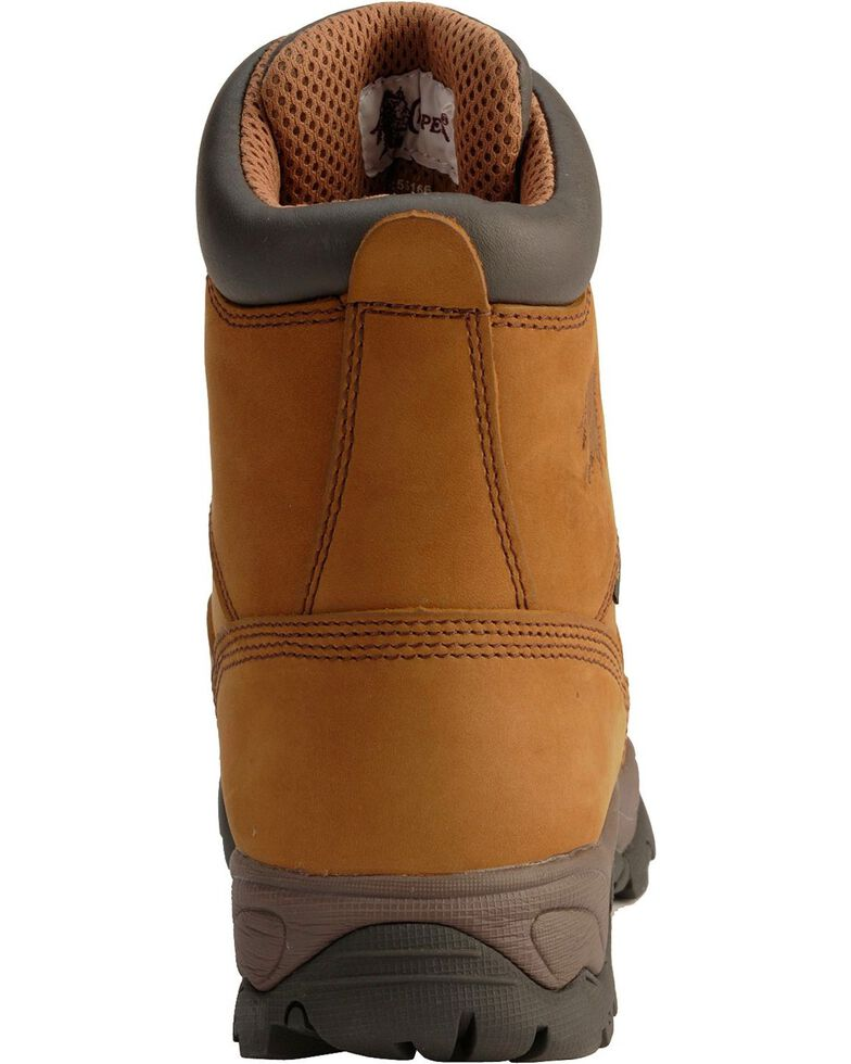 """Chippewa Waterproof Bay Apache 8"""" Lace-Up Work Boots - Composite Toe, Bay Apache, hi-res"""