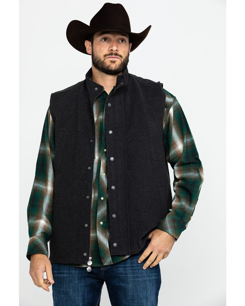 Outback Trading Co. Men's Oaks Vest , Black, hi-res