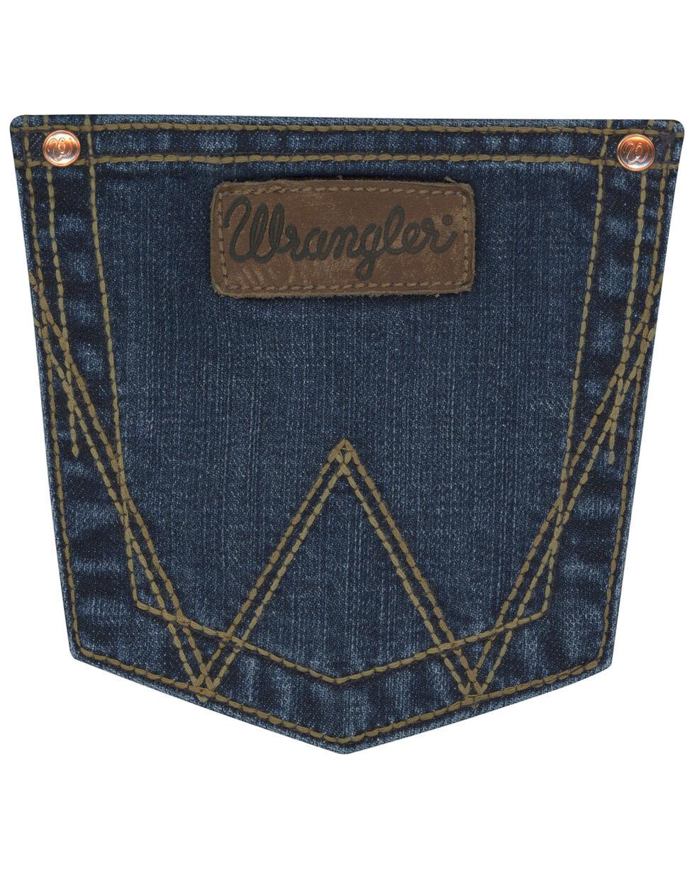 Wrangler Retro Women's Madison Mae Jeans Boot Cut Jeans , Indigo, hi-res