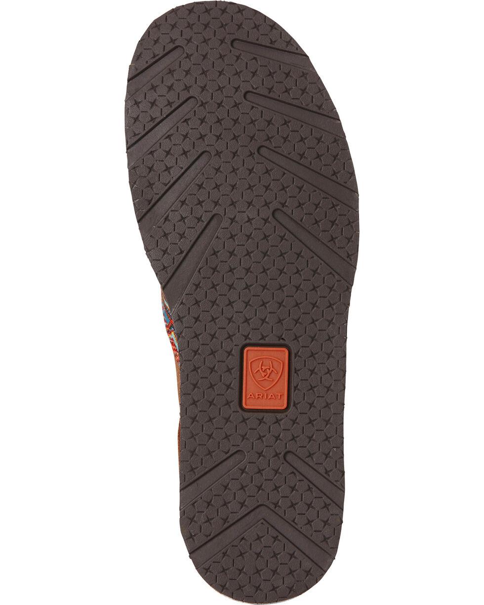 Ariat Women's Aztec Print Cruiser Slip-on Shoes, Tan, hi-res