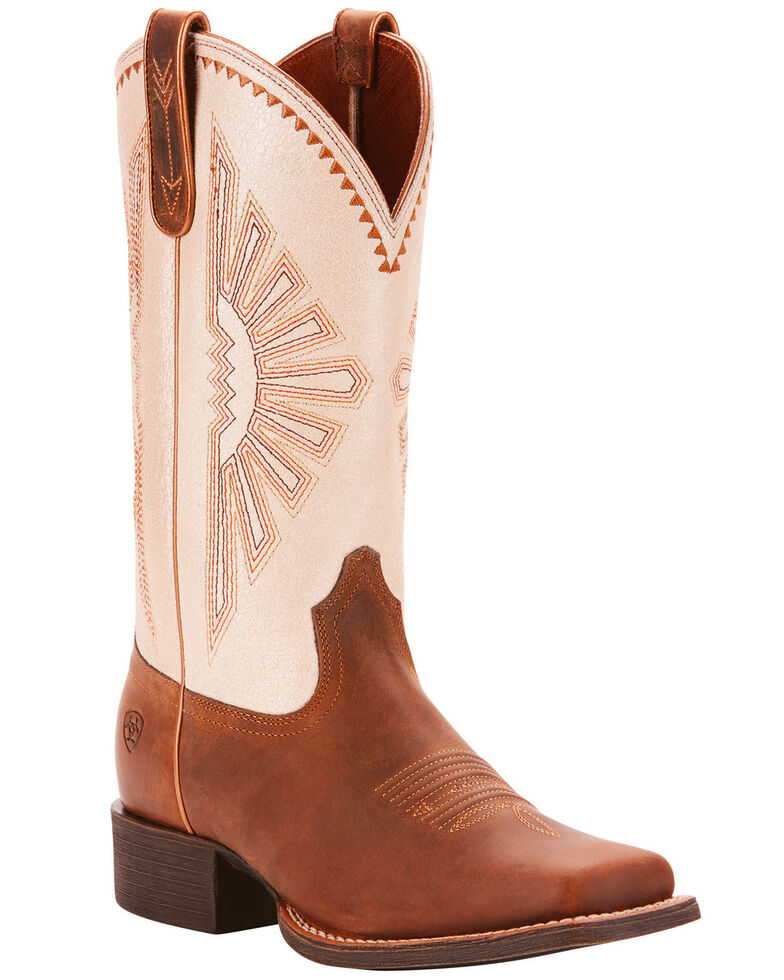a83bdb3160d Ariat Women's Round Up Rio Western Performance Boots - Square Toe