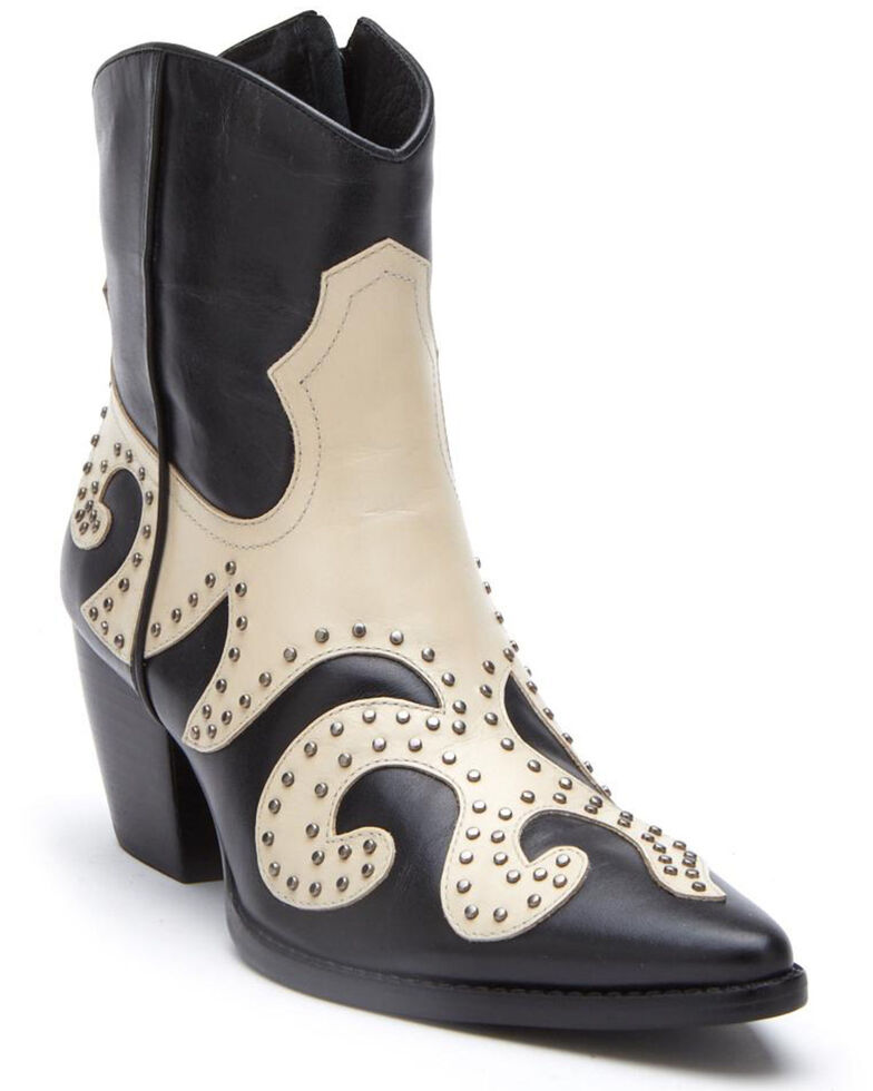 Matisse Women's Black Could Be Fashion Booties - Pointed Toe, Black, hi-res
