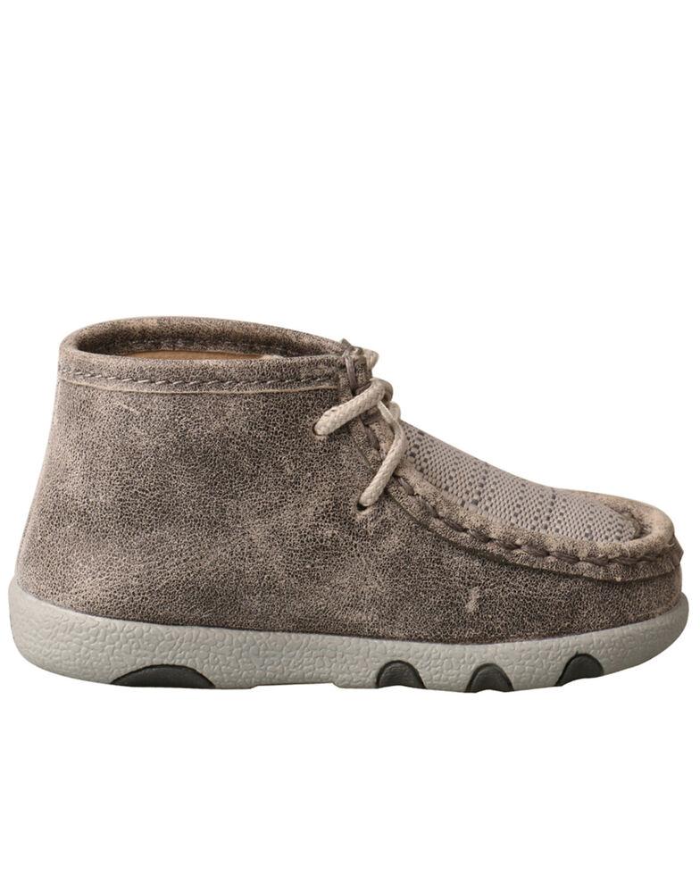 Twisted X Infant Boys' Chukka Driving Boots - Moc Toe, Grey, hi-res