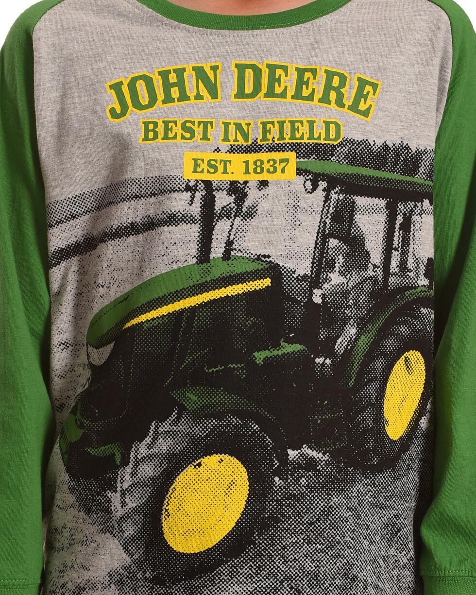 John Deere Boys' Best In Field Long Sleeve Shirt, , hi-res