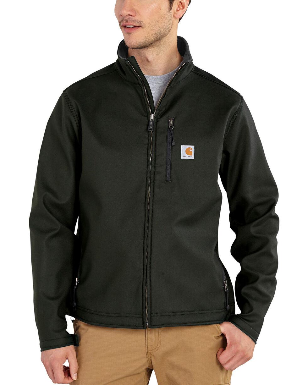 Carhartt Men's Pineville Softshell Jacket - Big & Tall, Black, hi-res