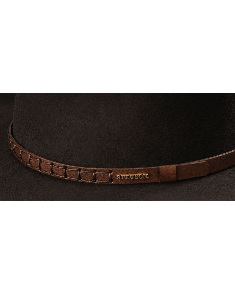 Stetson Sturgis Crushable Wool Hat, Chocolate, hi-res