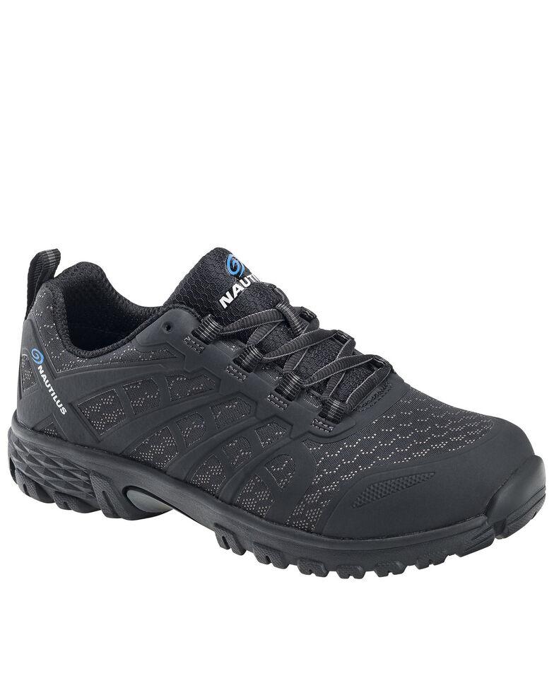 Nautilus Men's Stratus Work Shoes - Alloy Toe, Black, hi-res