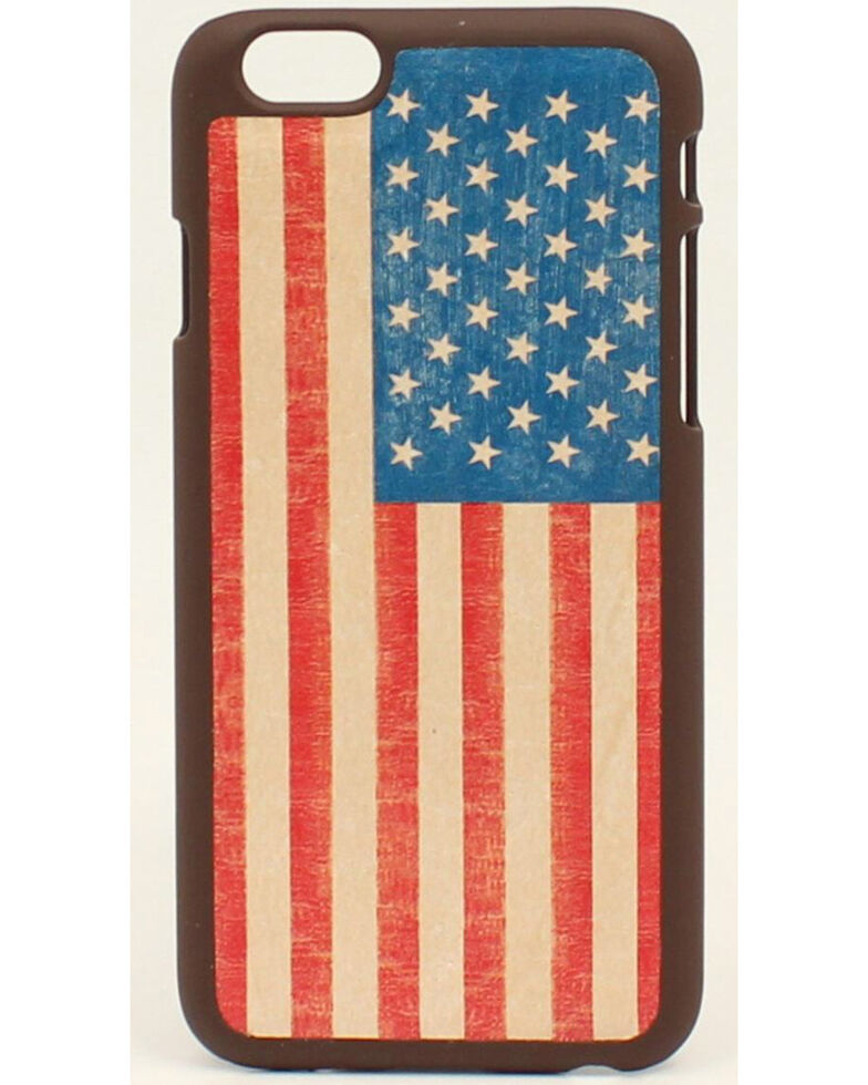 Nocona American Flag Galaxy S4 Case, Multi, hi-res