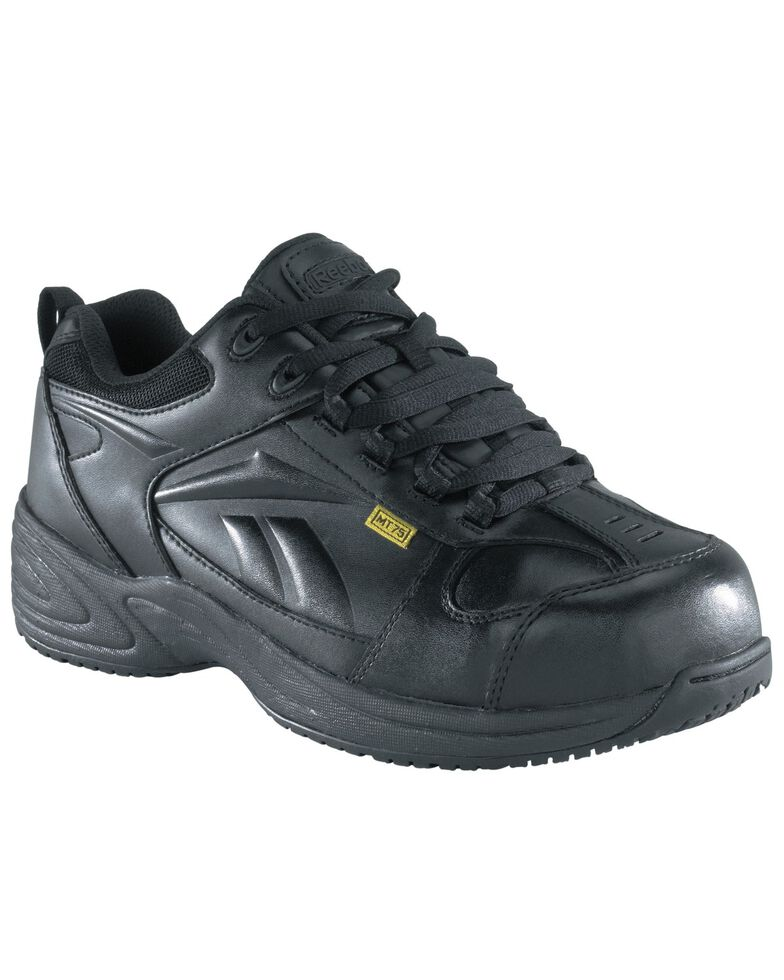 Reebok Men's Centose Internal Met Guard Work Shoes - Composite Toe , Black, hi-res