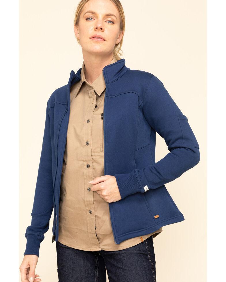 Wrangler Riggs Women's Blue Depths Work Jacket , Blue, hi-res