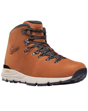 Danner Men's Pecan Mountain 600 Boots - Round Toe, Pecan, hi-res